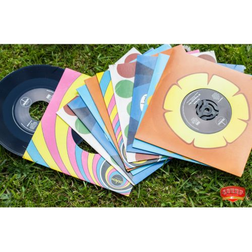 DISQUES VINYLES ANNEES 60 PEACE AND LOVE 3